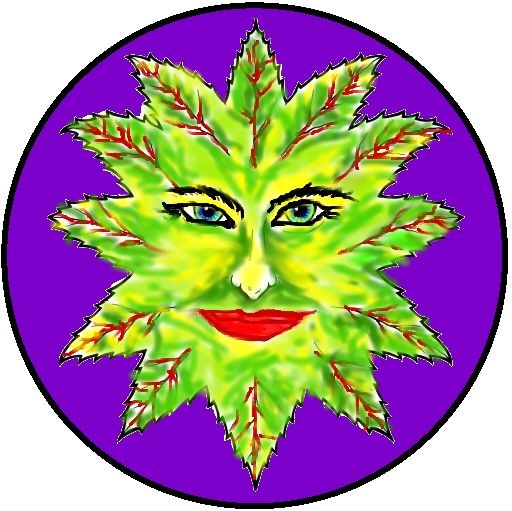 leaf face:)