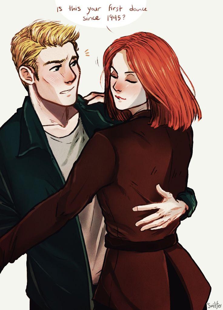 Natasha and Steve dancing