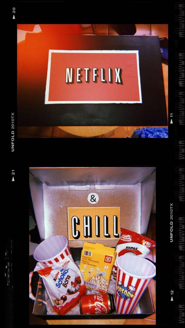 Movie Night Box Foto Geschenk Ideen Film Geschenk Und