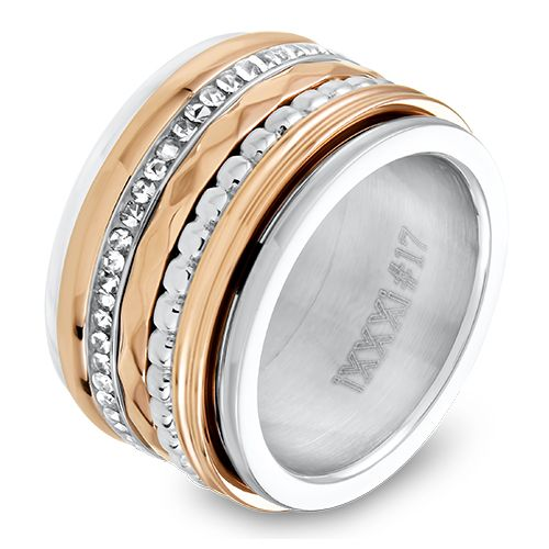 IXXXi JEWELRY zilver/Rose gold