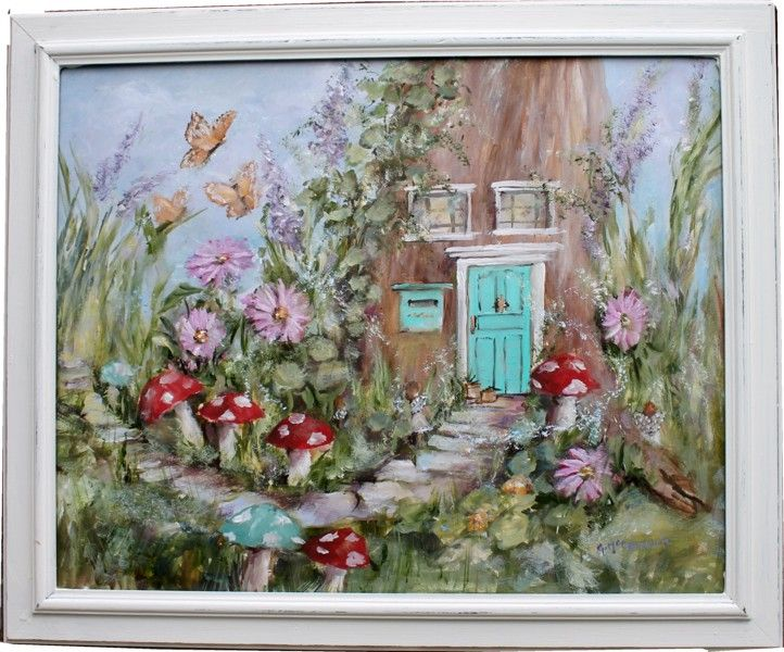 secret garden party!   Fairy paintings, Fairy art, Artist