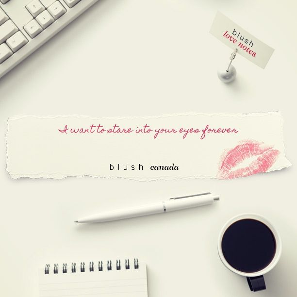 Here's a Blush Love Note http://bit.ly/1uEChlb #BLUSHNOTES
