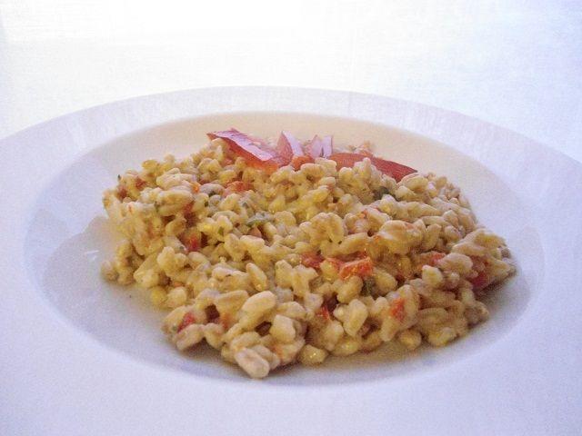 Farrotto mantecato al peperone – Ricette Vegan – Vegane – Cruelty Free
