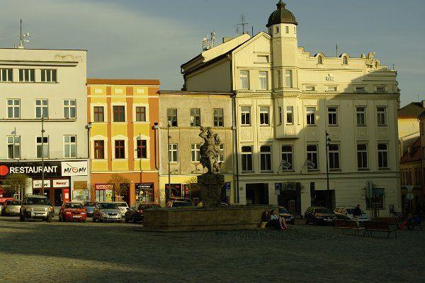 Česko: Olomoucké Dolní náměstí