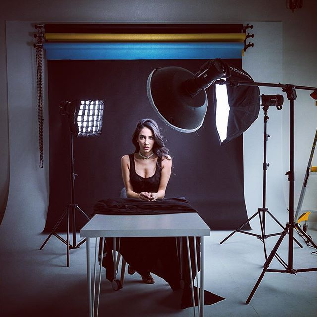 Famous BTS Magazine pick. I love being in the studio and I love what you can do with light....and a gorgeous model! #profotoglobal #profotob1 #bts #famousbtsmag #iso1200magazine #portrait #studio #iso1200