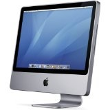 "Apple iMac Desktop with 24"" Display  MA878LL/A (2.4 GHz Intel Core 2 Duo, 1 GB RAM, 320 GB Hard Drive, SuperDrive) (Personal Computers)By Apple"