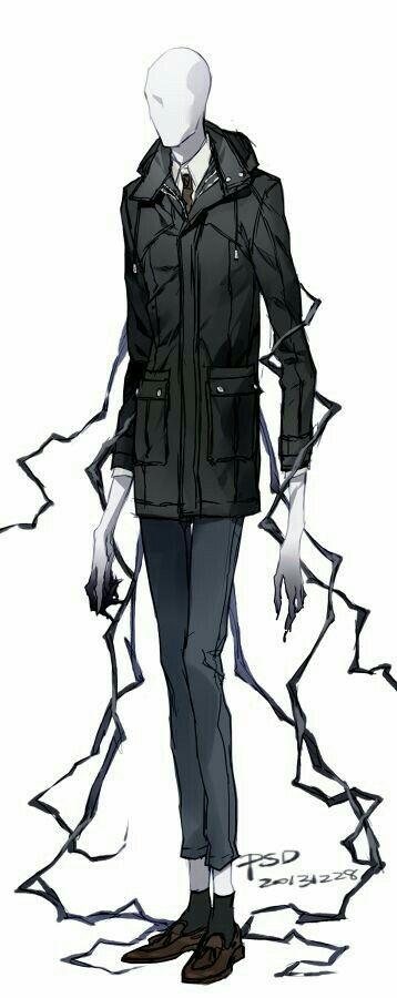 Slenderman, jacket, outfit, cool; Creepypasta