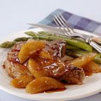 Pan-Seared Chops with Pear and Soy-Ginger Glaze - This one-skillet ...