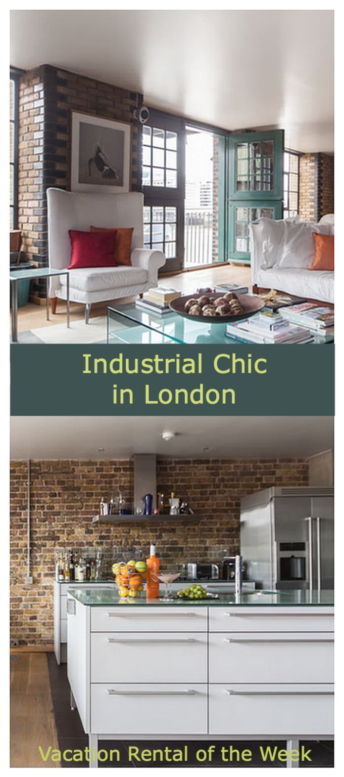 Vacation Rental of the Week: Industrial Chic, Loft-Style Apartment near London Bridge. Clink Wharf on the Thames in London - this Rover at Home recommendation features One Fine Stay.