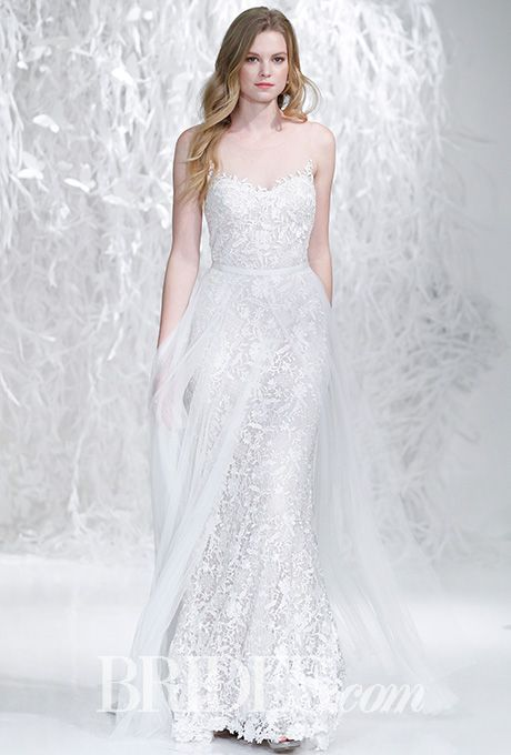 61 best images about watters on pinterest bordeaux for Wedding dress with overskirt