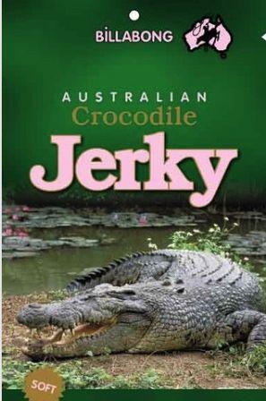 Crocodile jerky from just $9.95! YUM!!  #jerky  #food #ingredients #jerkyingredients #jerkyreview #snack #protein #snackfood