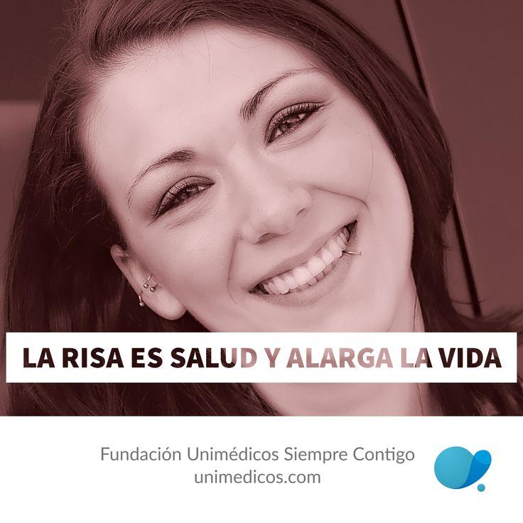 La risa es #Salud y alargar la #Vida #FundaciónUnimédicos #EMASiempreContigo