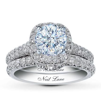 or this :)Wedding Ring, 14K White, Diamonds Bridal, Lane Bridal, Rings, Diamonds 14K, Neil Lane, White Gold, Bridal Sets
