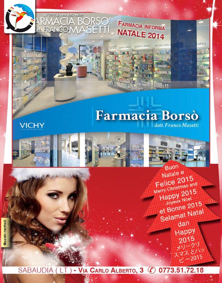 Creazione e progettazione secondo gli standard per la stampa tipografica di: Grafica Brochure Farmacia per Newsletter