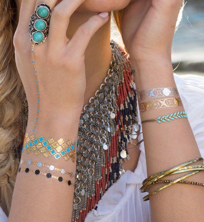 Tatouage éphémère Jewelery Tattoo Lab