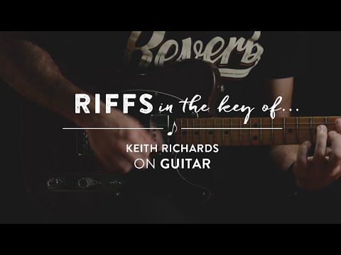Learn To Play: Riffs in the Key of Keith Richards of The Rolling Stones on Guitar (Open G) - YouTube