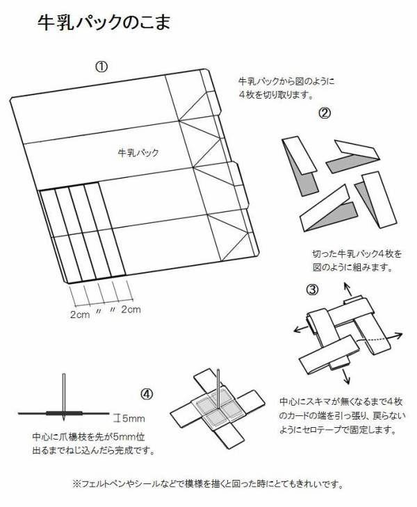 手作りおもちゃ・折り紙 作り方掲載 no114 かんたんに作れ、バランスが良くて、とてもよく回るこまです。 友だちとまわしくらべをしてみましょう。 このおもちゃの動画:https://www.youtube.com/watch?v=_a5k7J3IsmU 手作りおも...