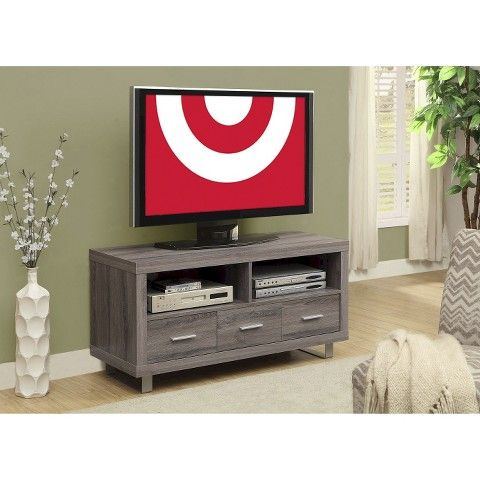 Monarch TV Stand with Drawers