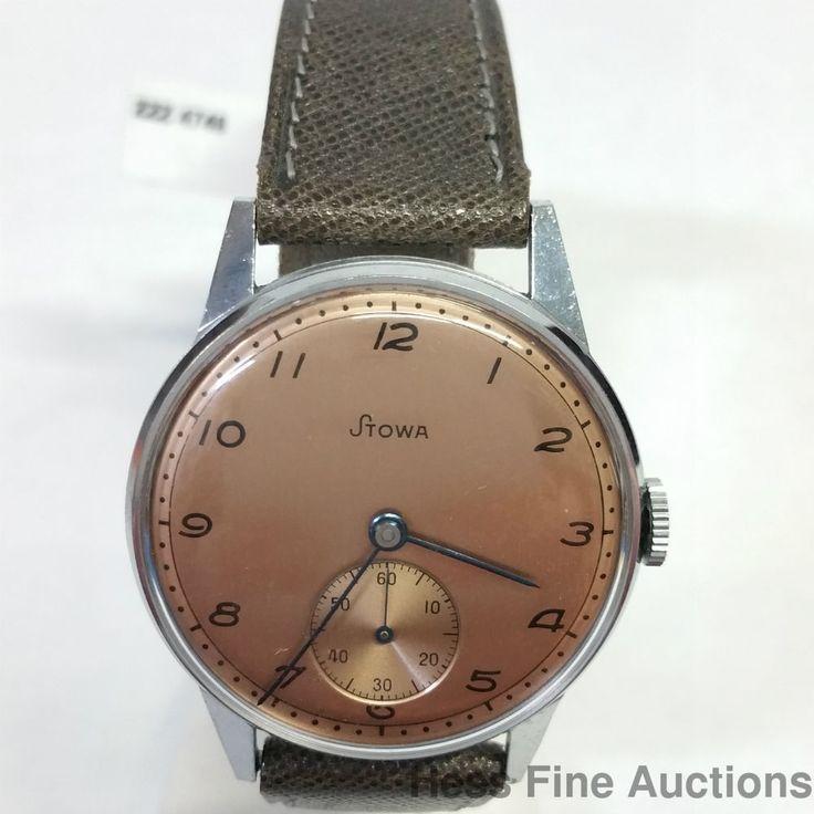Stowa Marine German Made Mens Vintage Watch Copper Dial  #Stowa #Casual