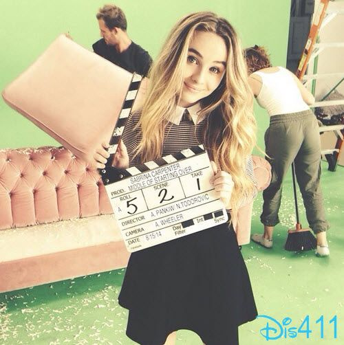 "Photo: Sabrina Carpenter's Video For ""The Middle Of Starting Over"" Arrives September 21, 2014"