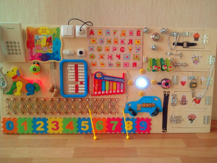 Tablero de ocupado tablero sensorial regalo del por BusyBoardOlga