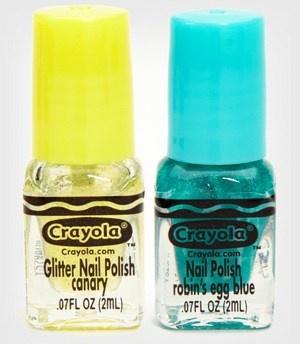 Crayola Makes Nail Polish?! Color Me Happy!
