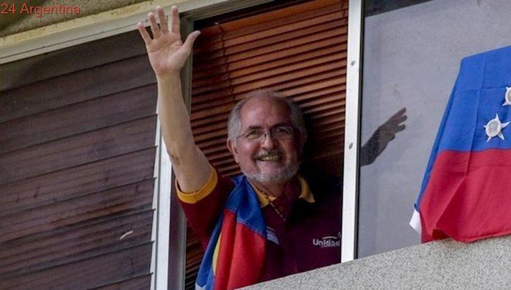 Alerta: el opositor venezolano Antonio Ledezma, bajo arresto domiciliario, escapó a Colombia
