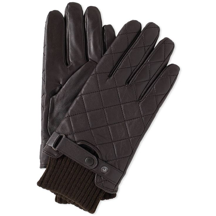 Barbour Quilted Leather Glove — Thread