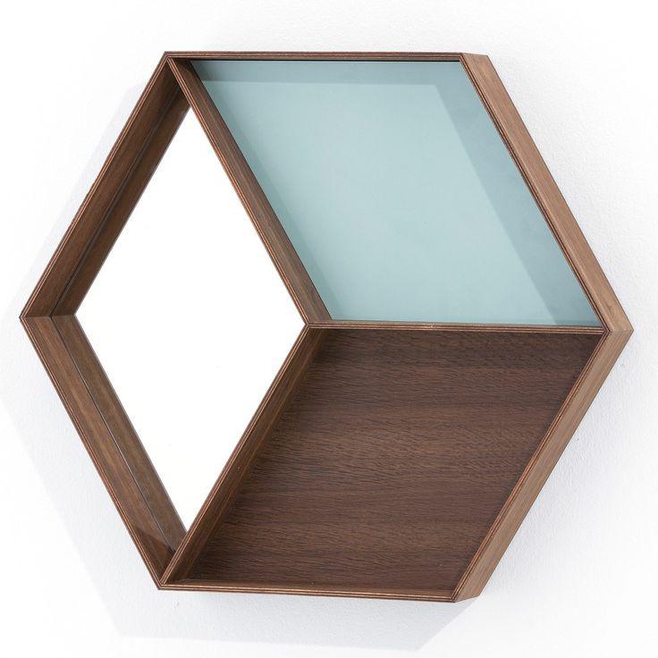 Wall Wonder speil, eik i gruppen Innredningsdetaljer / Hjemmets bra å ha / Speil hos ROOM21.no (116301)