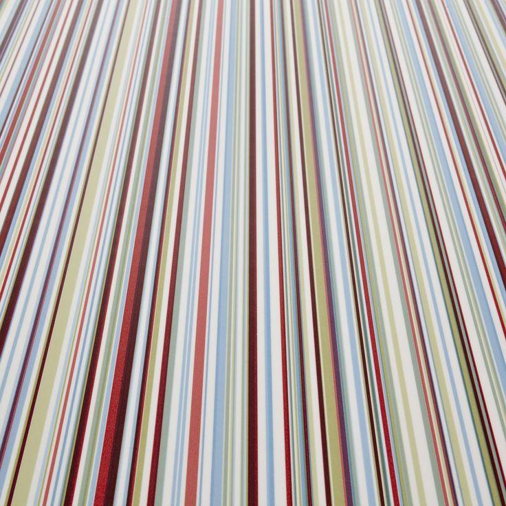 Mardi Gras 75 Striped Vinyl Flooring Carpetright