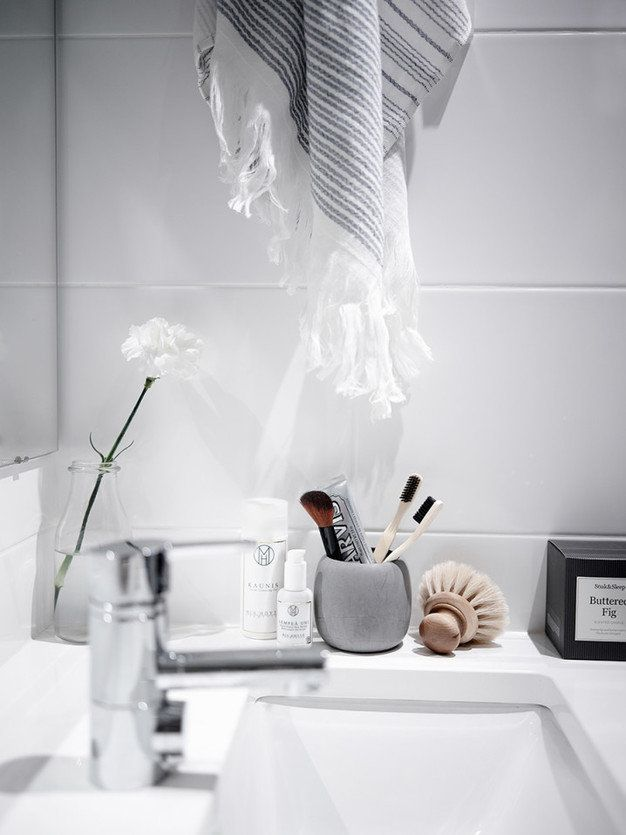 Bathroom styling with Soak & Sleep by Laura Seppänen