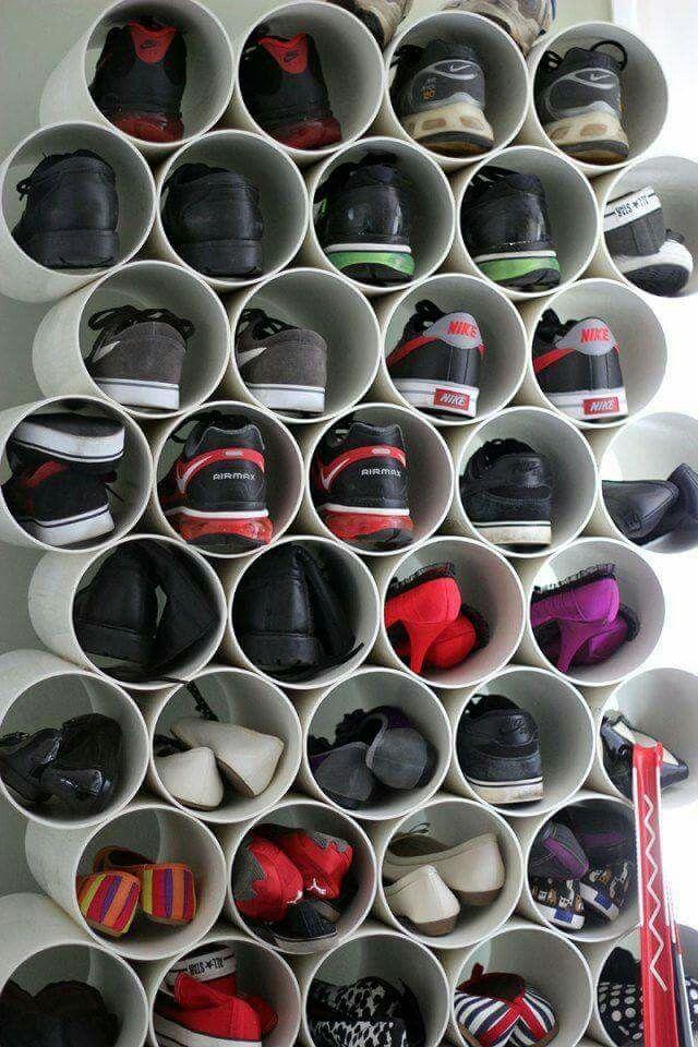 Diy closet organisation