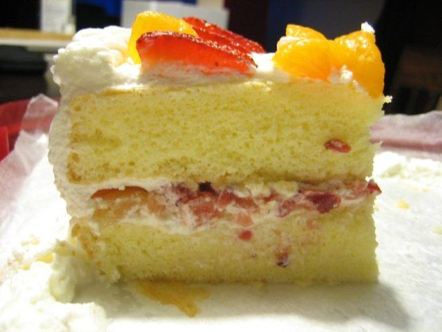 Nancy Baked...: Chinese Bakery Sponge Cake