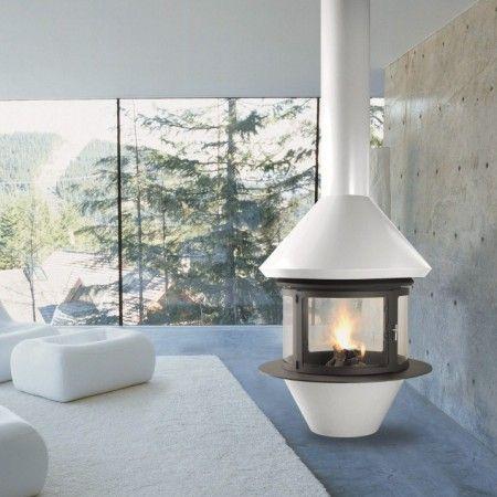 EGG poêle-cheminée Brisach decodesign / Décoration
