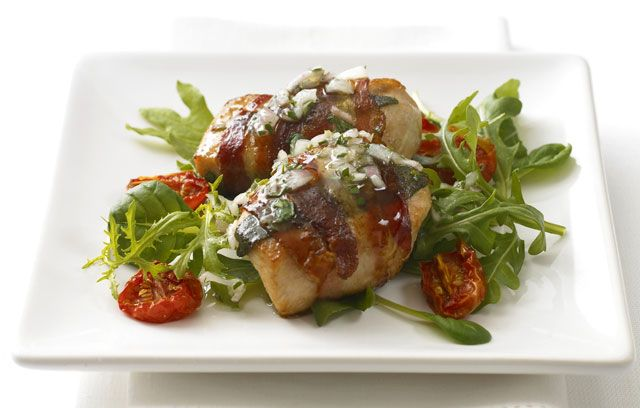 Chicken wrapped in Pancetta and Sage | italian | Pinterest