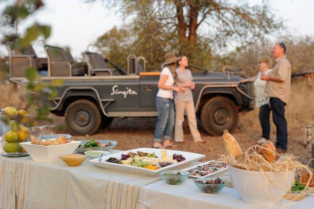Dining Al Fresco   Singita Kruger National Park