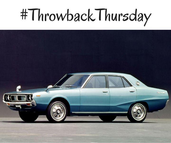 #TBT: 1968 Nissan Skyline