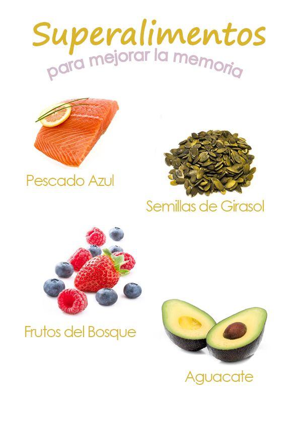 Superalimentos para mejorar la memoria. #memoria #nutricion #alimentosanos