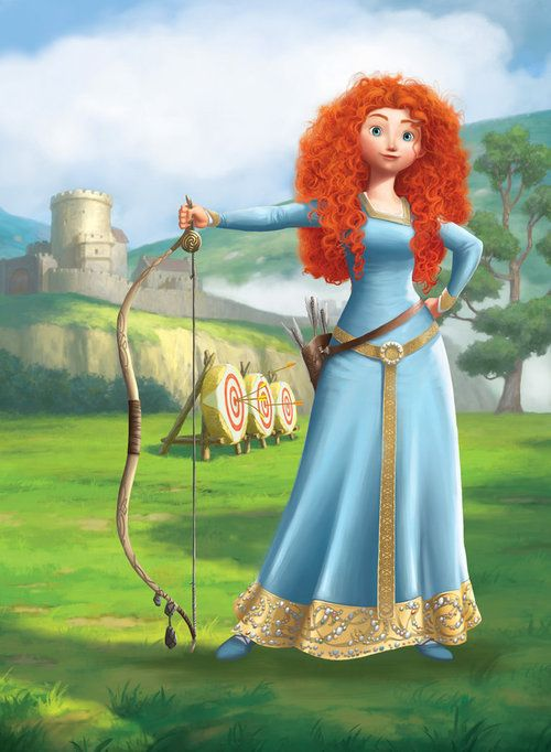 Disney Fanart FTW - It's a Disney World - Merida