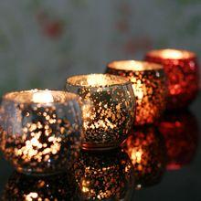 Бесплатная доставка европейский мозаика стекло свадебные канделябры романтический кафе бар ktv творческое начало украшения(China (Mainland))