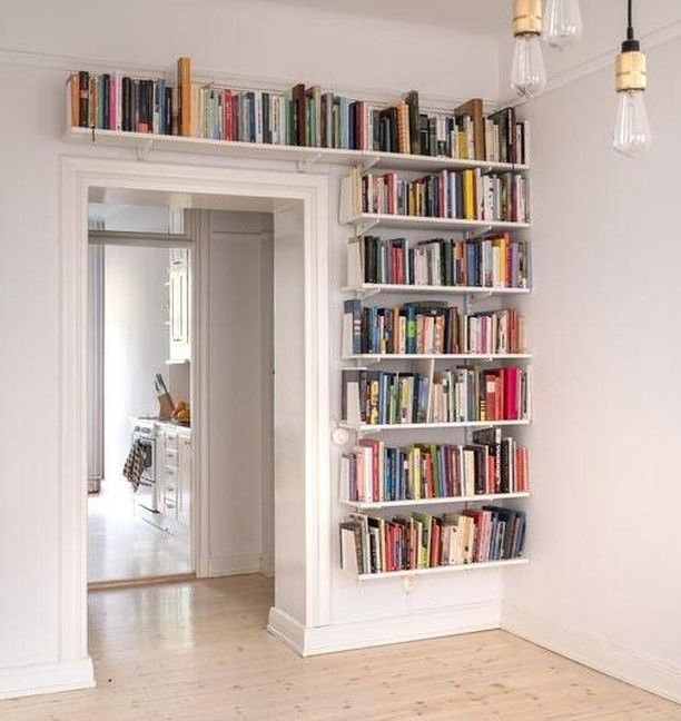 Beautiful Wall Bookshelves For Your