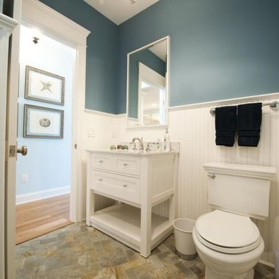 New york bathroom wainscoting design pictures remodel - Bathroom remodel ideas with wainscoting ...