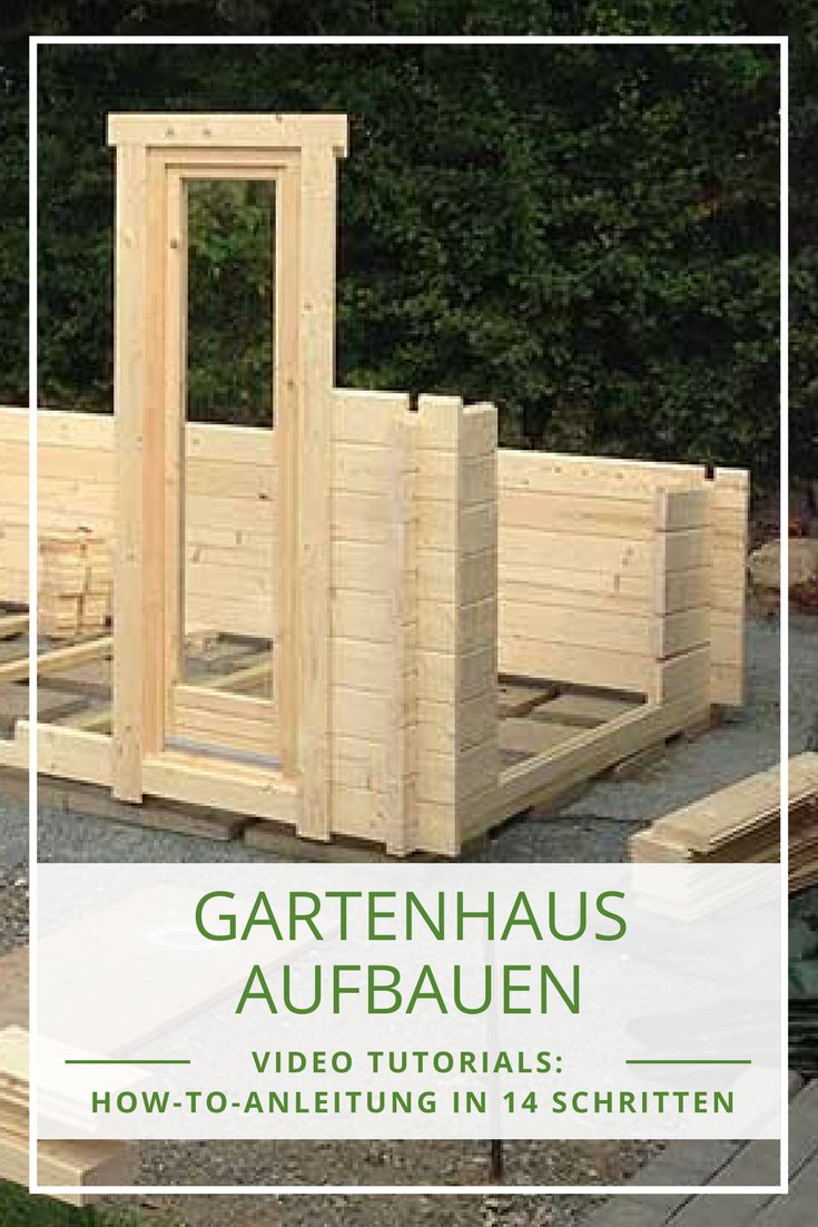 30 besten gartenhaus selber bauen bilder auf pinterest. Black Bedroom Furniture Sets. Home Design Ideas
