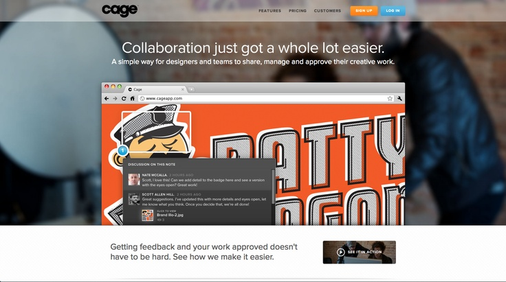 http://cageapp.com/ #website #app