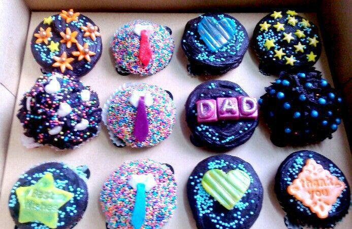 Father's Day Cupcakes #chocolate #cupcakes #ZuckerAmor