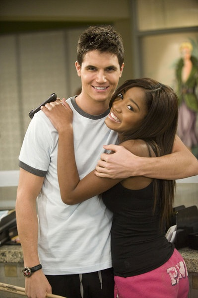 "Robbie Amell and Keke Palmer in ""True Jackson, VP"", Nickelodeon."