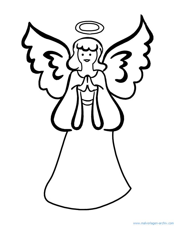 engel malvorlagen  christmas coloring pages free