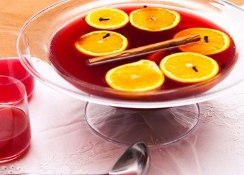 Mulled cranberry punch recipe | Light Bites, Sides & More | Lemon Squeezy