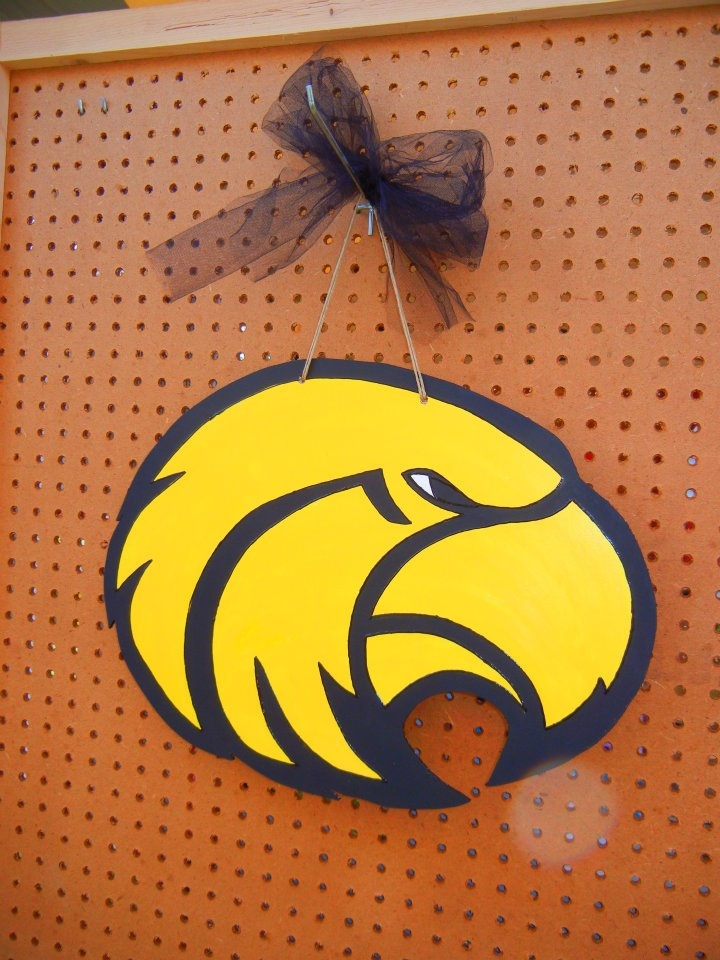 Southern Miss Eagle Sign - $20.00   (Design can be customized) **Shipping is available for an additional charge.    Like our Page & Order at https://www.facebook.com/SouthernByDesign