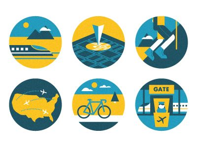 Hotel Icons DONE! by Scott Hill